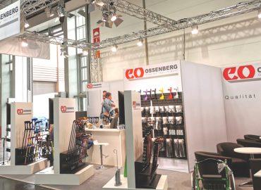 Messestand der Ossenberg GmbH