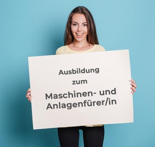 Ausbildung zum Maschinen- und Anlagenführer/in