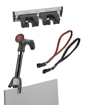 Equipment for walking sticks