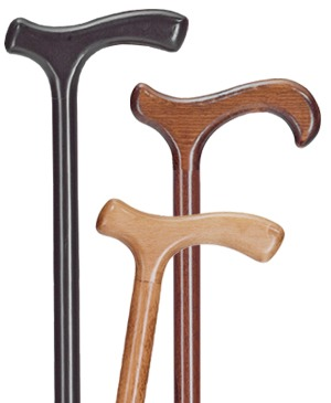 Simple wooden walking sticks - 100 kg