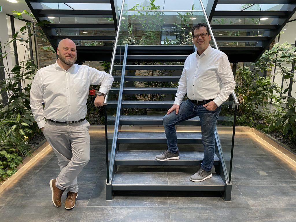 Sascha Meyer und Carsten Diekmann